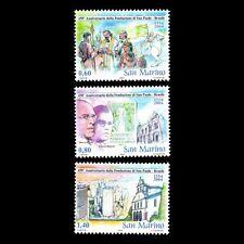 San Marino 2004 - 450th Anniv of Sao Paolo Architecture - Sc 1608/10 MNH