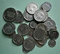Netherlands - Lot of Vintage Dutch Coins