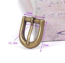 20X Brass Clip Pin Clasp Belt Buckle for Leather Bracelet Belt Strap Watch Band
