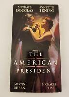 The American President VHS Michael Douglas, Annette Bening, Martin Sheen