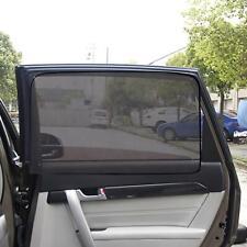 2x Magnetic Car Rear Window UV Mesh Sun Shades Blind Children Sunshade Blocker
