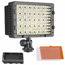 Neewer CN-160 Power Panel Digital Camera Light Dimmable LED On-Camera