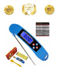 Instant Read Digital Food and Meat Thermometer Splash Resistant BBQ Kitchen