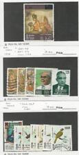 Sri Lanka, Postage Stamp, #540, 546-8, 551-2, 563-9 Used, 1978-9 Birds