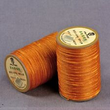Wuta 0.55mm Round Waxed Wax Thread Cord for Leather Hand Sewing Stiching