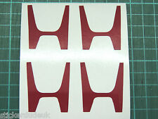 H Centre Cap Stickers Decal CL1 Accord Type R JDM