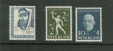 NVPH 646-648 Bonifacius+luchtvaart 1954 luxe postfris