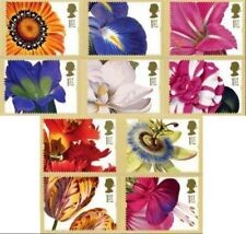 GB POSTCARDS PHQ CARDS MINT FULL SET 1997 Greetings Flowers FULL PACK GS 5