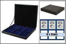 Safe 63730 nova de Luxe Tirelire Noir 6 cases Pour US Slab Coin