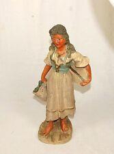 Antike Josef Strnact Keramik Figur Zigeunerin um 1880/1890 - Böhmen Maresch Stil