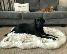 Faux Fur Orthopedic Dog Bed Ultra Soft Memory Foam Sleeping Mat For Puppy Dogs