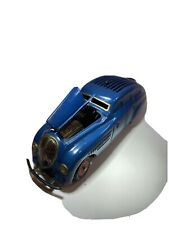 SCHUCO KOMMANDO  2000 BLUE Germany Wind Up Toy Car GREAT CONDITION