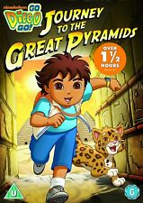 Go Diego Go  Journey to the Great Pyramids    (DVD)  New & Sealed