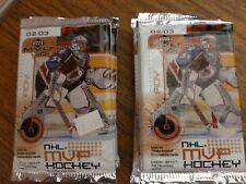 5   Hockey Packs Factory Sealed 2002-03  MVP