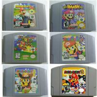 Mario Kart 64 - Party 123 -- Video Game Cartridge For Nintendo N64 Console US/CA