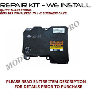 04 05 06 TOYOTA SIENNA ABS ANTI-LOCK BRAKE CONTROL MODULE 89541-08050 REMAN