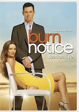Burn Notice: Season 5 DVD Complete NEW Factory Sealed Free Shipping