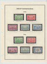 U.S. 1936-37 Army-Navy War Heroes #785-94, 10 Stamps COMPLETE, mNH Fine