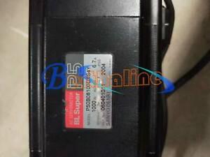 1PCS Used SANYO Servo Motor DENKI P50B08100DXS4Y