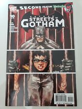 BATMAN: STREETS OF GOTHAM #10 (2010) DC PAUL DINI! BATMAN & ROBIN! 1ST PRINT!!