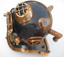 Deep Sea Divers Helmet Mark Iv U.S. Navy Mini Diving Brass Helmet 7''