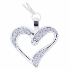 Eternal Love Geocoin Necklace - Polished Silver Geocaching Official Trackable