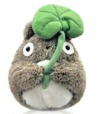 Official Studio Ghibli My Neighbor Totoro - Holding Leaf Plush Toys 13cm
