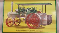 Case 65 Horsepower Steam Engine Metal Sign