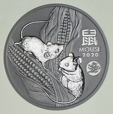 Better Date 2020 Australia $1.00 1 Oz. Silver Year Of The Mouse SILVER *986