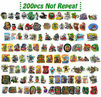 200pcs Random Ed Roth Vinyl Decal Big Daddy Graffiti Rat Fink Stickers
