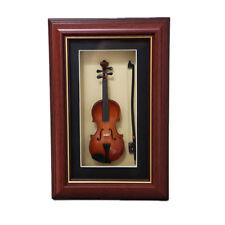 Sky Mini Violin Model in Photo Frame with Hanger Delicate Gift Ideas