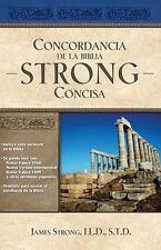 Concordancia de la Biblia Strong Concisa by James Strong (2011, Hardcover)