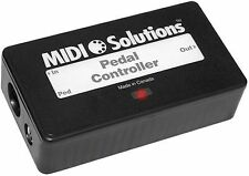 MIDI SOLUTIONS- PEDAL CONTROLLER