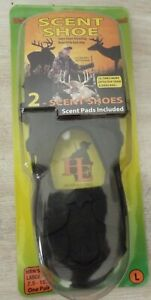 SCENT SHOE HUNTER'S EDGE DEER HUNTING ONE PAIR LARGE FITS 7.5 - 10.5.