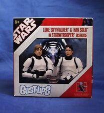 Star Wars Bust-Ups Luke Skywalker & Han Solo in Stormtrooper Micro Bust 2-Pack