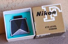 Nikon F Type 5 Eye Level Prism Finder in box w cap Eyelevel Viewfinder Near Mint