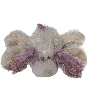 "Ty Beanie Babies Punkies Pink Long Hair Dog Plush Stuffed Animal 2002 9"""