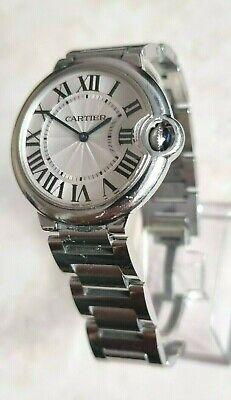 Cartier Ballon Bleu 3005 Quartz Stainless Steel Watch 36mm