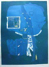 "LOUIS JAMES AUSTRALIAN LARGE LITHOGRAPH ""BY-PASS"" 1968 LTD ED"