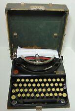 Working Antique Vintage 1923 REMINGTON PORTABLE TYPEWRITER SERIAL NUMBER NC36925