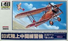 "KIT ARII 1:48 AEREO DA MONTARE TYPE 93 INTERMEDIATE TRAINER   ""WILLOW"" ART A338"