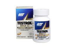 GAT SPORT Testrol Gold ES, Testosterone Booster Builds Muscle 60CT + Free Sample