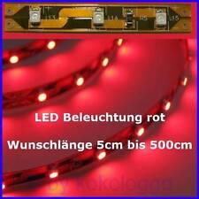 S334 LED iluminación a medida de 5cm hasta 500cm rojo SMD LED iluminación modelo