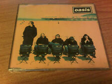 CDs UK OASIS ROLL WITH IT  4 TRACKS 1995