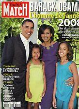 Paris Match.Barack e Michelle Obama,Nicole Kidman,Carole Bouquet, Horst Tappert