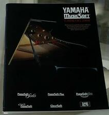 Yamaha Music Soft Catalog, 2004, VERY GOOD CONDITION