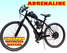 "ADRENALINE 50 80 CC GAS MOTOR MOTORIZED ENGINE & 26"" BIKE BICYCLE SCOOTER KIT"