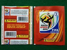 1 BUSTINA SOUTH AFRICA 2010 FIFA sigillata sealed packet PANINI Sticker