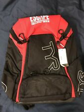 TYR Alliance Backpack Black/Red 30 L Escape From Alcatraz Triathlon New