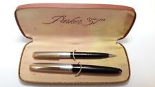 Vintage Parker 21 Fountain Pen Set Black in a Parker 51 Box
